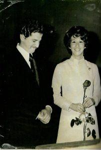 Luis Carlos y Gloria se casaron el 21 de diciembre de 1971 en la Capilla de Santa María Goretti, en el barrio La Castellana de Bogotá.